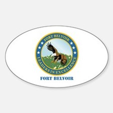 Fort Belvoir with Text Decal