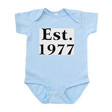 Est. 1977 Infant Creeper