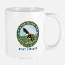 Fort Belvoir with Text Mug