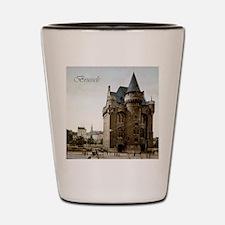 Vintage Brussels Porte de Hall Shot Glass