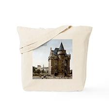 Vintage Brussels Porte de Hall Tote Bag