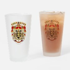 Belgium Coat Of Arms Drinking Glass
