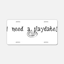 PLAY1A.png Aluminum License Plate