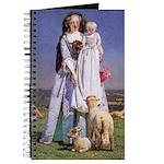 The Pretty Shepherdess by F M Brown Journal