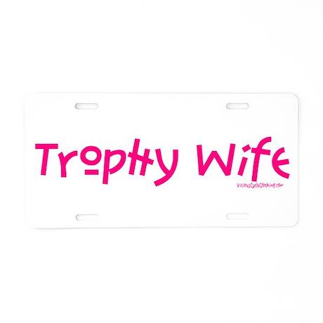 TROPHY_A22_PNK.png Aluminum License Plate