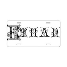 ETHAN3_BB6.png Aluminum License Plate