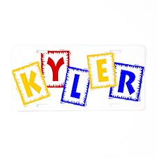 KYLER_3.jpg Aluminum License Plate