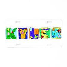 KYLER22_FISH.png Aluminum License Plate