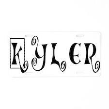 KYLER16_C42.png Aluminum License Plate
