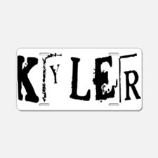 KYLER18_H6.png Aluminum License Plate
