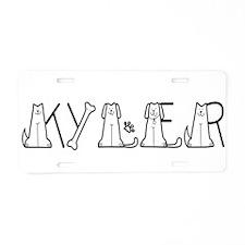 KYLER6_CC10.png Aluminum License Plate