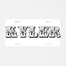 KYLER5_CC6.png Aluminum License Plate
