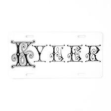 KYLER3_BB6.png Aluminum License Plate