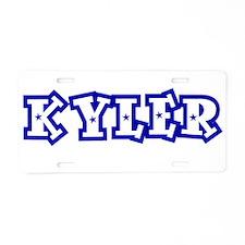 KYLER_4.jpg Aluminum License Plate