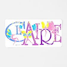 CLAIRE_1.jpg Aluminum License Plate