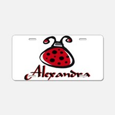 ALEXANDRA1.png Aluminum License Plate