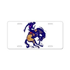 BRONC10.png Aluminum License Plate