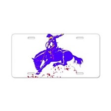 BRONC8.png Aluminum License Plate