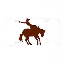 BRONC7.png Aluminum License Plate