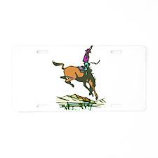 BRONC3.png Aluminum License Plate