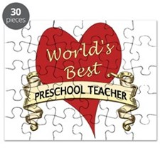 Cute Preschool teacher Puzzle