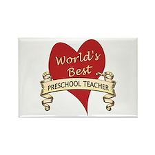 Cool Preschool teacher Rectangle Magnet (100 pack)