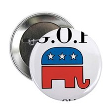 "G.O.P. Grumpy Old People 2.25"" Button"