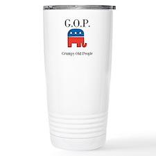 G.O.P. Grumpy Old People Travel Mug