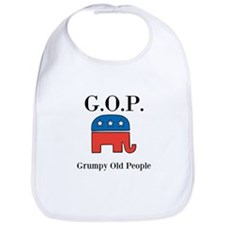 G.O.P. Grumpy Old People Bib