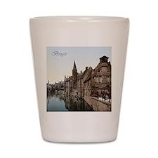 Vintage Bruges Shot Glass