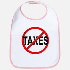 Anti / No Taxes Bib