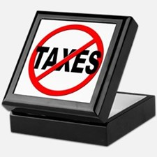 Anti / No Taxes Keepsake Box