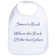 Where the Rock IS the Hard Place Bib