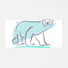 Bear100-polar.jpg Aluminum License Plate