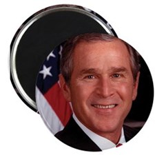 "George W. Bush 2.25"" Magnet (10 pack)"
