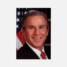 George W. Bush Rectangle Magnet