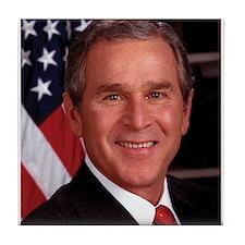 George W. Bush Tile Coaster