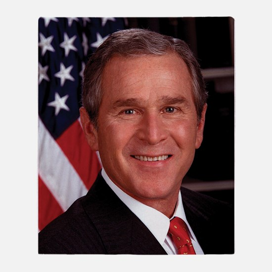 George W. Bush Throw Blanket