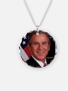 George W. Bush Necklace