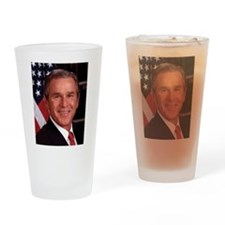 George W. Bush Drinking Glass