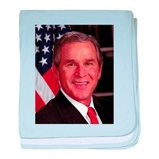 George W. Bush baby blanket