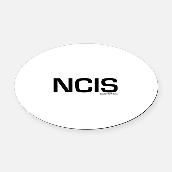 NCIS Oval Car Magnet