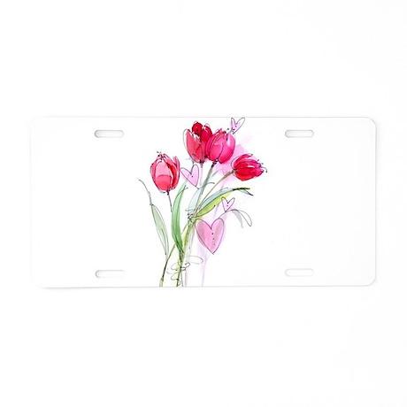 Tulip2a.jpg Aluminum License Plate