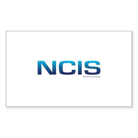 NCIS Sticker (Rectangle)