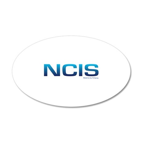 NCIS 38.5 x 24.5 Oval Wall Peel