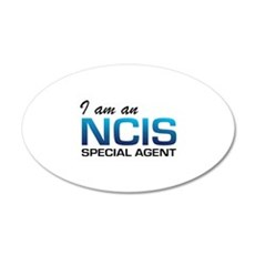 I am an NCIS special agent 22x14 Oval Wall Peel