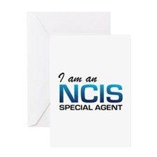 I am an NCIS special agent Greeting Card
