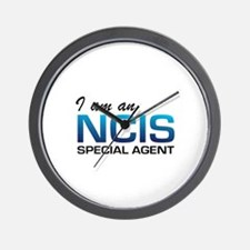 I am an NCIS special agent Wall Clock