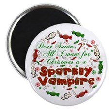 Dear Santa Vampire Magnet