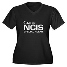 I am an NCIS special agent Women's Plus Size V-Nec